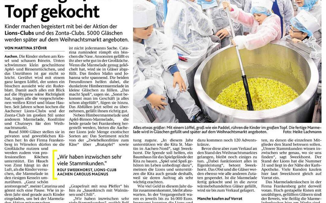 "Oktober 2017: ""Marmelade wird hier im großen Topf gekocht"""
